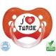 Tétine bébé i love Tunisie