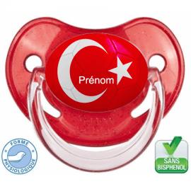 Sucette bébé ballon foot Turquie
