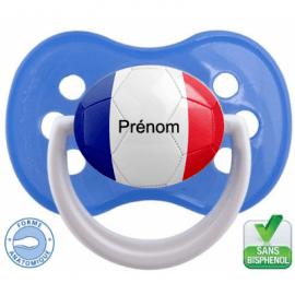 Sucette bébé ballon foot France