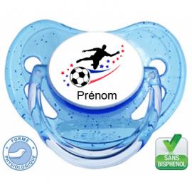 Tétine personnalisée foot effigie France