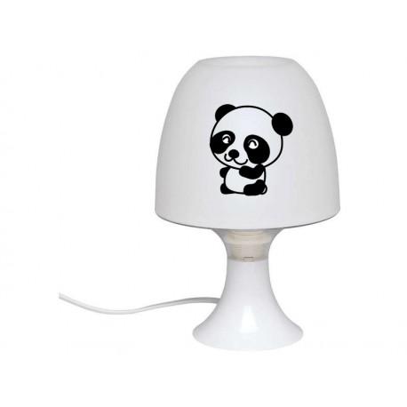 Lampe personnalisée panda et prénom