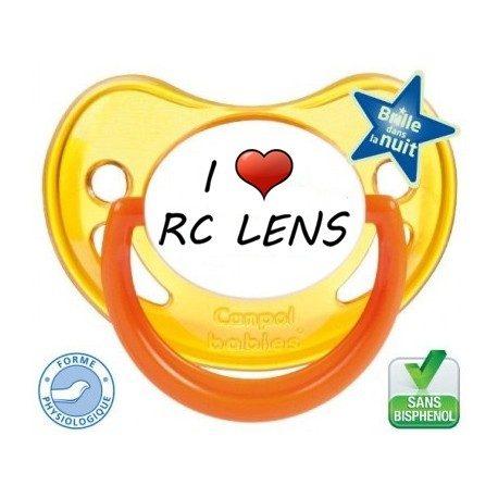 Tétine bébé I love le rc lens