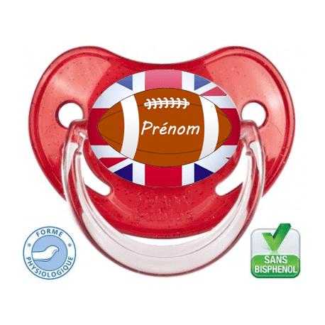 Tétine bébé I love Rugby Angleterre