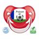 Tétine bébé Foot équipe de France