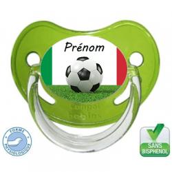 Sucette bébé Foot équipe Italienne