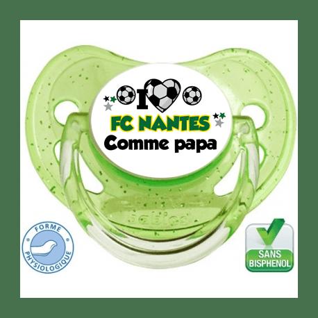 Tétine personnalisée club Nantes