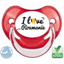 Tétine bébé i love Roumanie