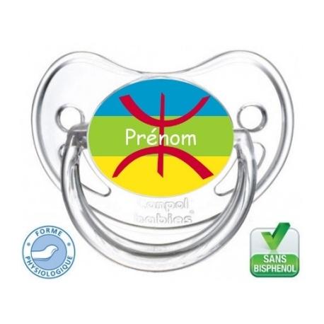 Tétine bébé drapeau Kabyle
