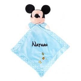 Doudou personnalisé Mickey et prénom