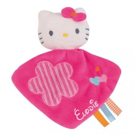 Doudou personnalisé Hello Kitty et prénom