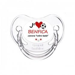 Tétine personnalisée i love Benfica comme ...