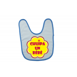 Bavoir personnalisé chuipa un bébé