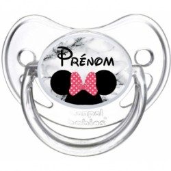 Tétine bébé disney minnie