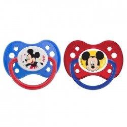Tétine personnalisée Disney avec Mickey lot de 2